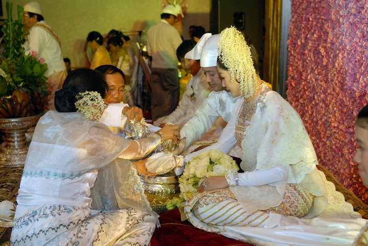 Myanmar Traditional Wedding