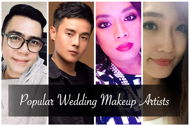 popular weddng makeup artists